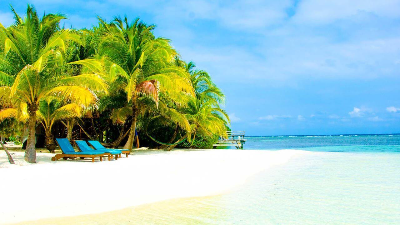 Belize Plajları: South Water Caye