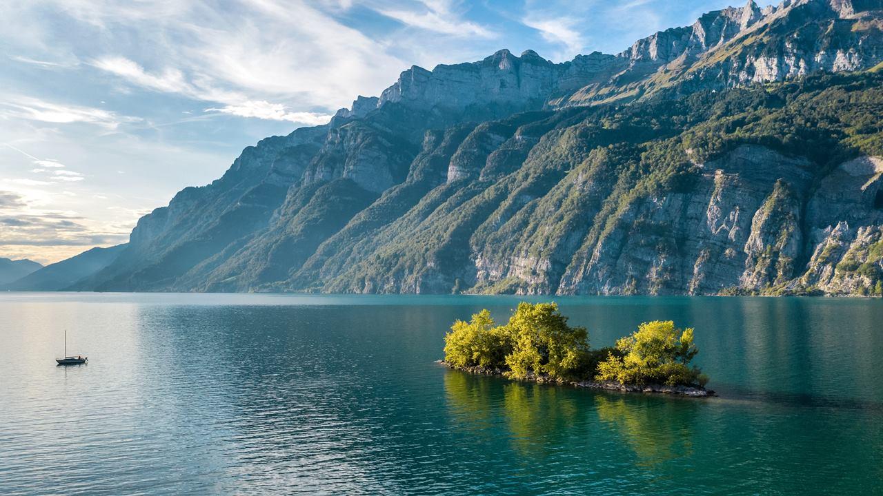 En Güzel İsviçre Gölleri: Walensee