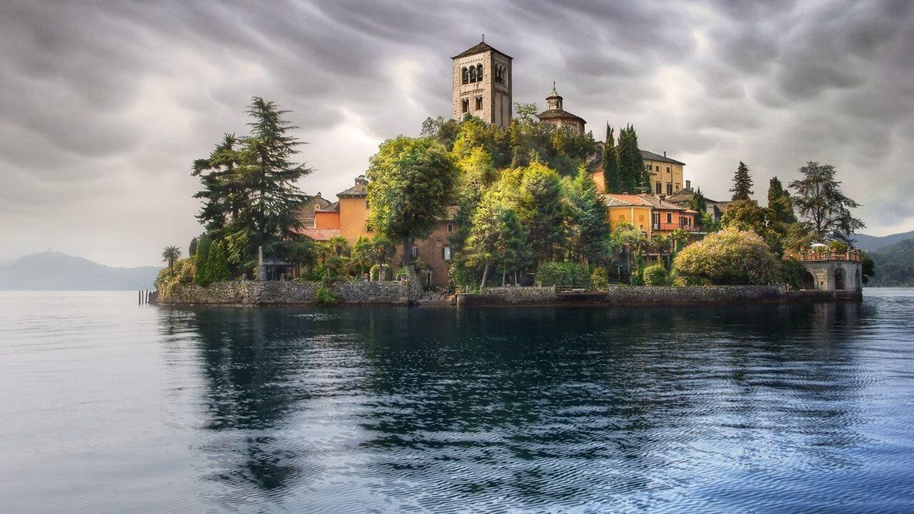 İtalya Gölleri: Orta