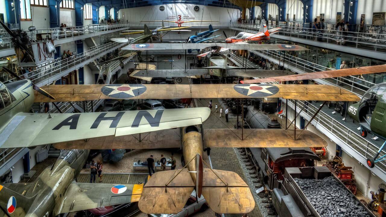 Prag Müzeleri: National Technical Museum