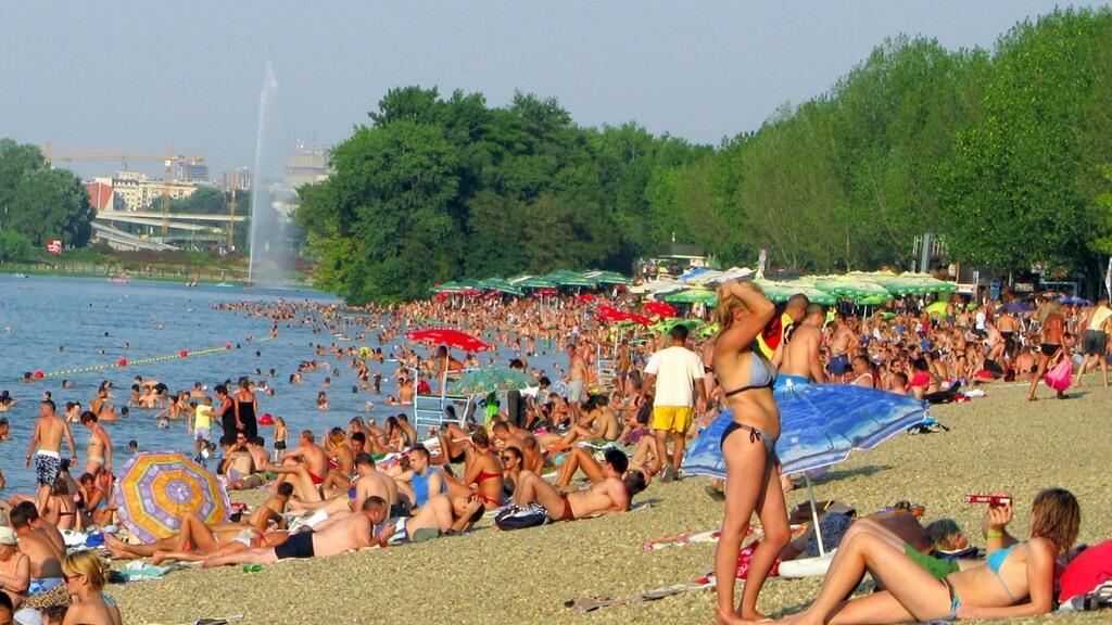 Belgrad Gezilecek Yerler: Ada Ciganlija